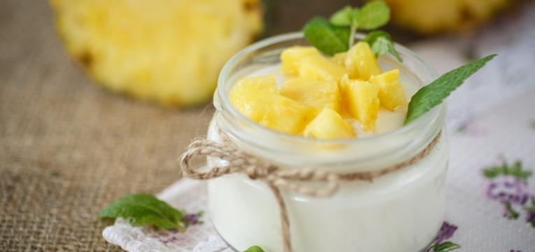 Bavaroise de ananas
