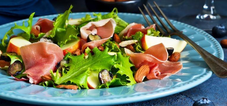salada presunto