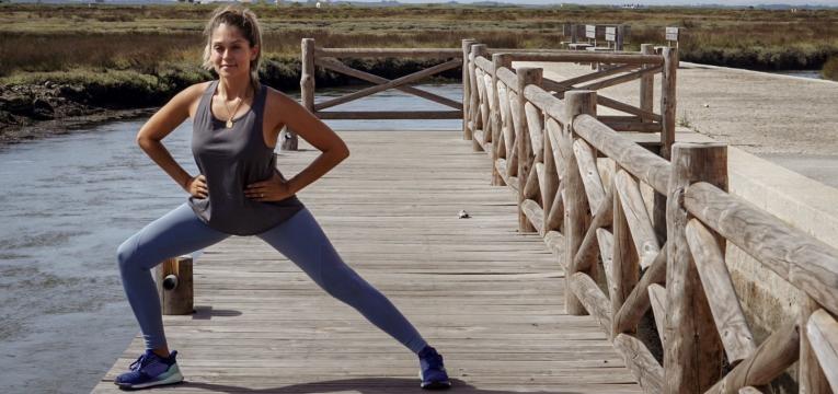 afundo lateral e exercicios para trabalhar a zona interior da perna