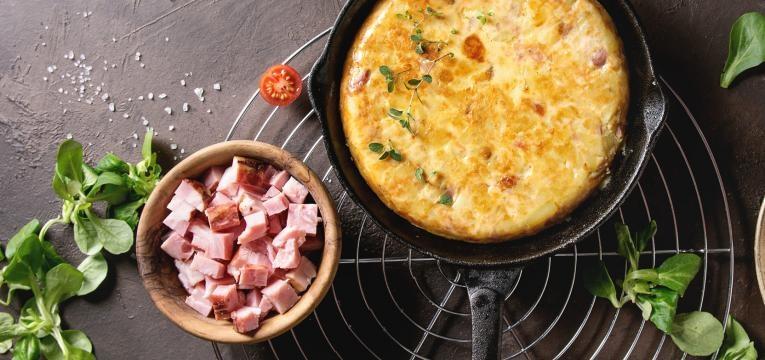 tortilha bacon