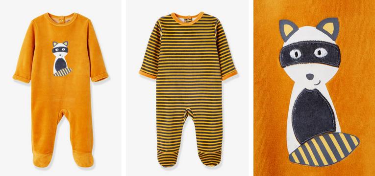 pijama laranja