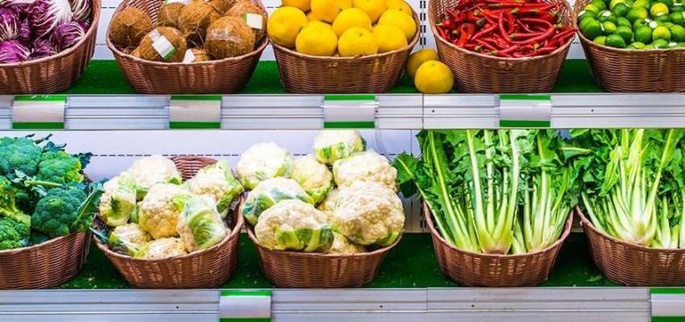 compra de alimentos saudaveis