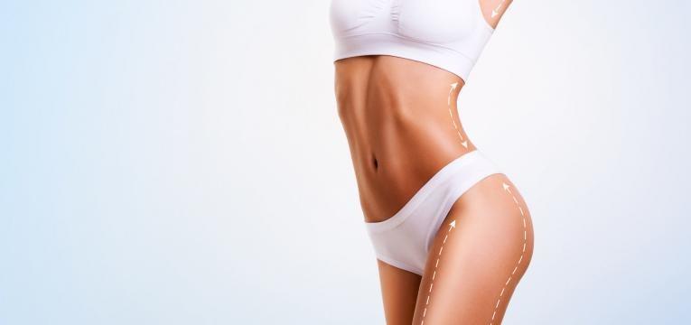 zonas a tratar do corpo da mulher