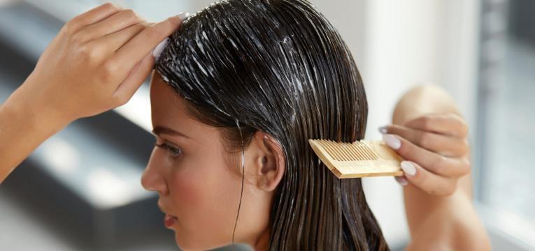 mascara para o cabelo
