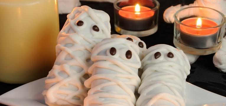 Mumias de pretzel