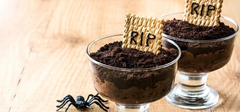 Mousse de chocolate de tumulo