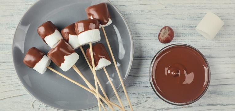 Fondue de chocolate na Bimby