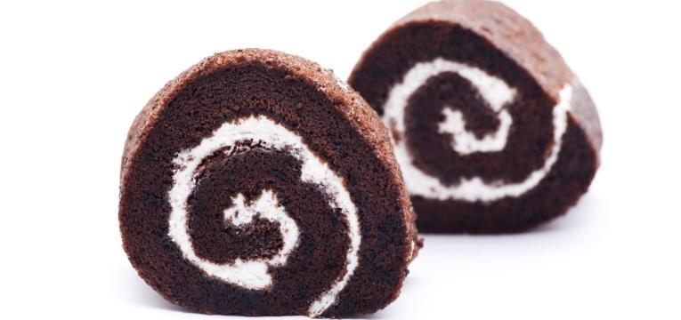 Torta gelada de chocolate e coco