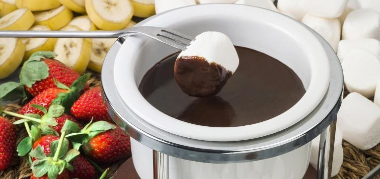 Fondue doce de Nutella