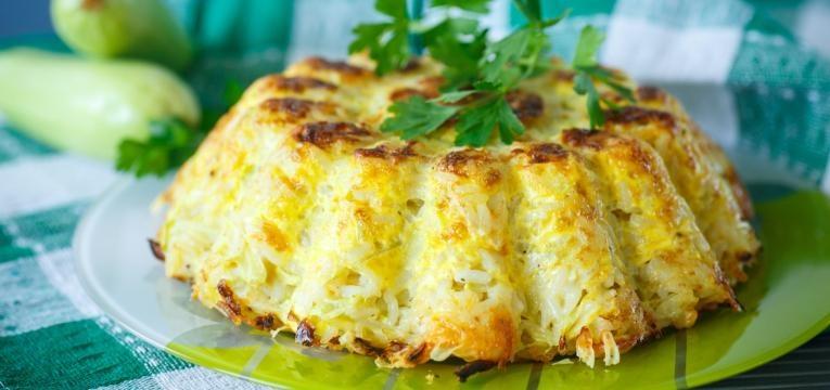 Receitas para reaproveitar arroz e Arroz gratinado com queijo