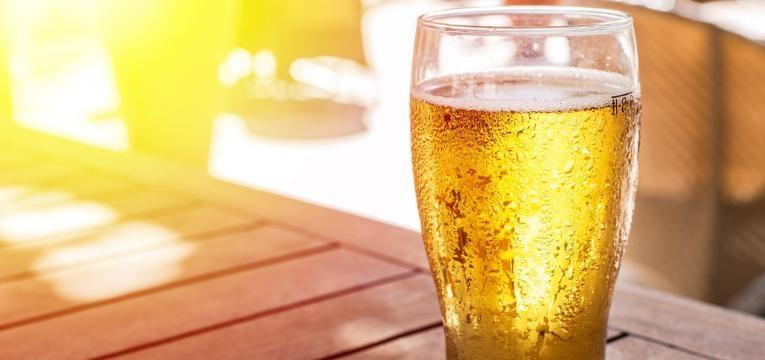 cerveja em dias de calor