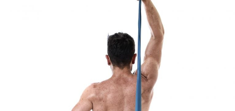 Tricep com banda elastica
