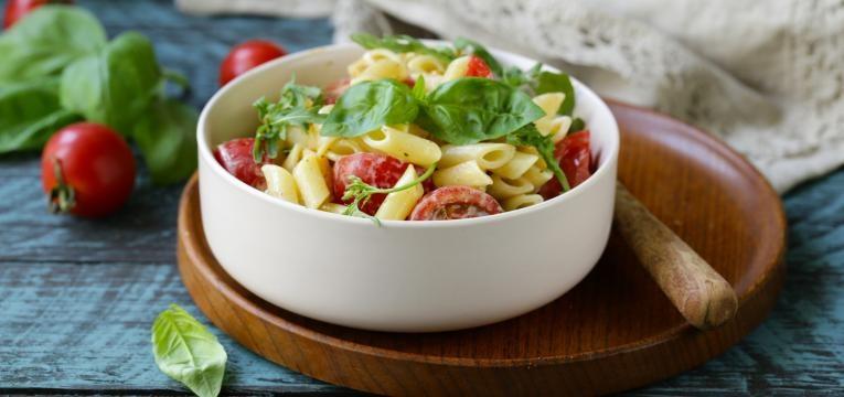 Refeicoes rapidas em casa e Massa com legumes
