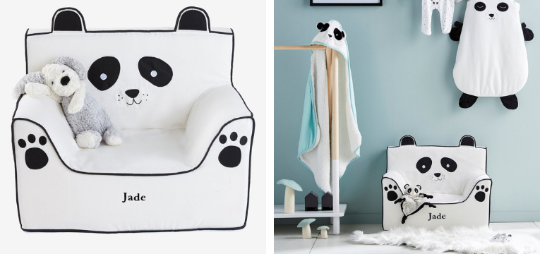 sofa panda