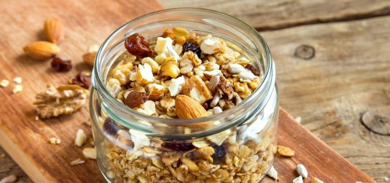 granola caseira presentes de Natal para quem esta de dieta