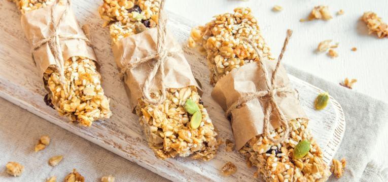 barrinhas de cereais caseiras presentes de Natal para quem esta de dieta