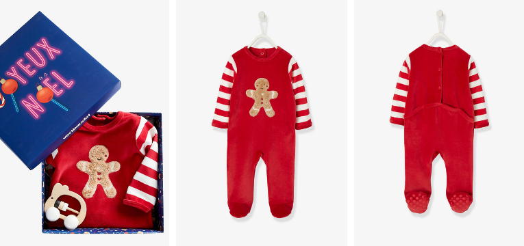 pijamas de natal bolacha