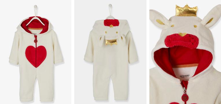pijamas de natal coracao