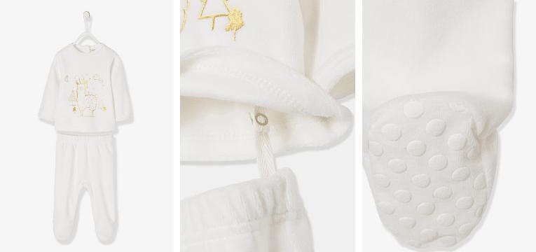 pijamas de natal lama