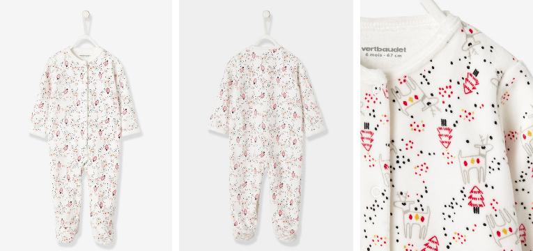 pijamas de natal pinheirinhos