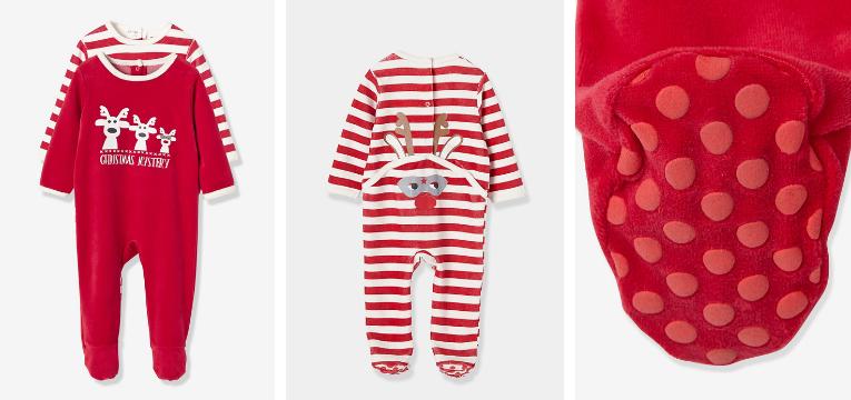 pijamas de natal renas