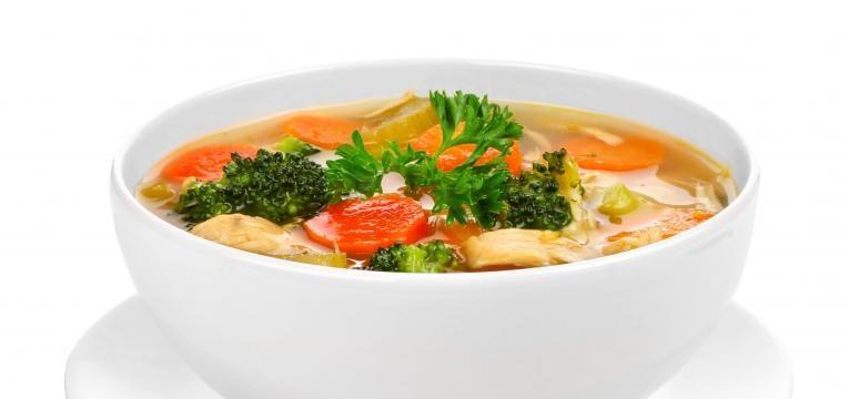 almocos equilibrados para criancas sopa rica em legumes