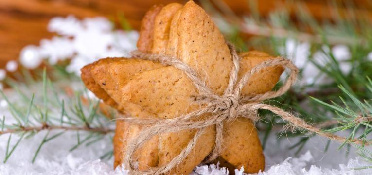 Sobremesas de natal paleo Bolachinhas de gengibre paleo