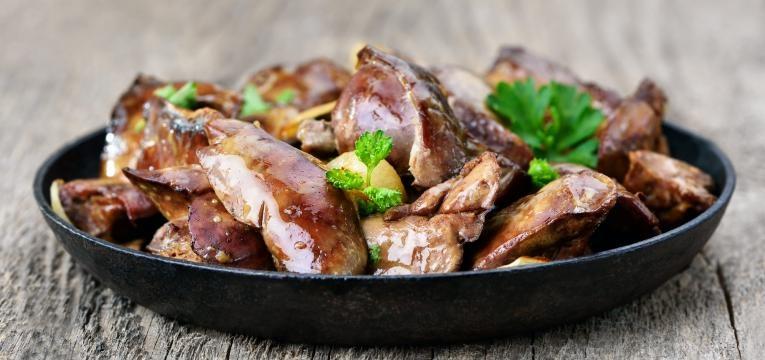 alimentos que aumentam o acido urico visceras de frango
