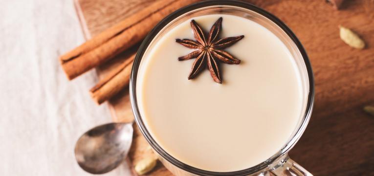 receitas aconchegantes para os dias frios Chai latte