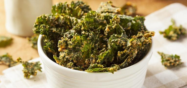 Receitas para experimentar em 2019 Couve Kale chips