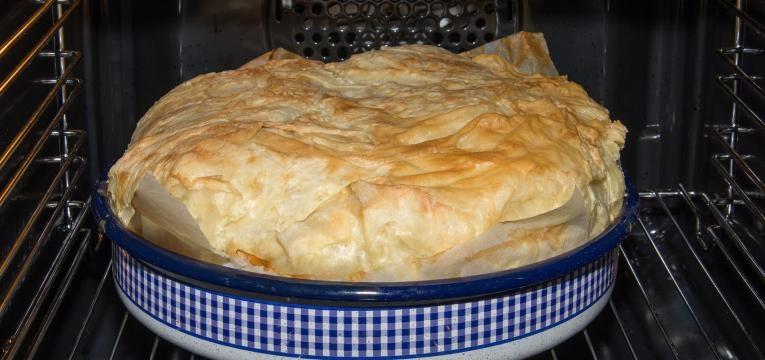 Receitas com queijo e massa folhada Queijo gouda ao forno em massa folhada
