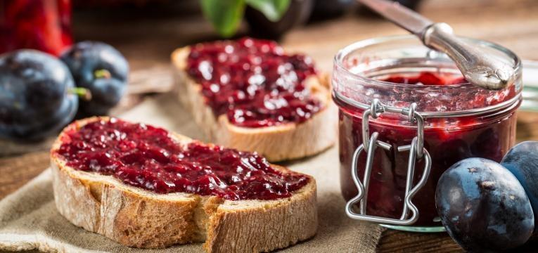 Doce de frutos vermelhos sem acucar