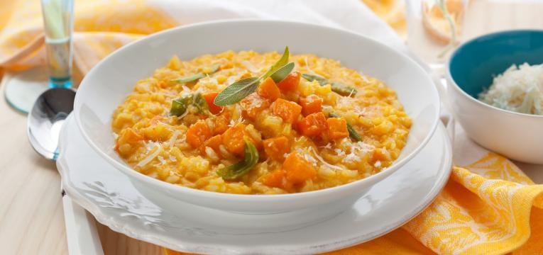 receitas de legumes para criancas risotto de abobora