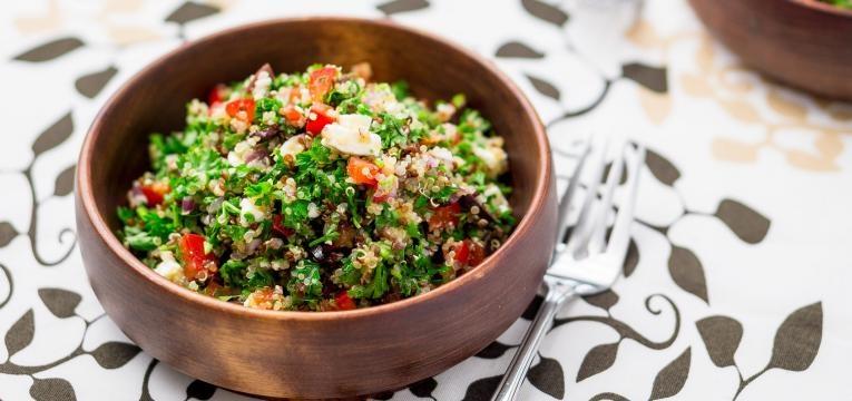 Risotto de quinoa com frango