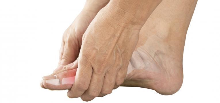 doenca de Freiberg dor no dedo do pe