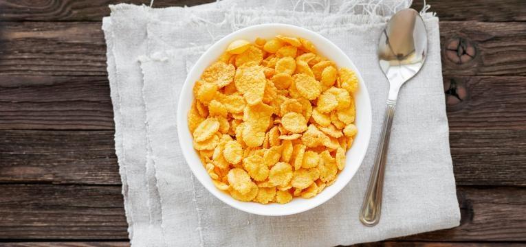 alternativas alimentares a suplementos corn flakes