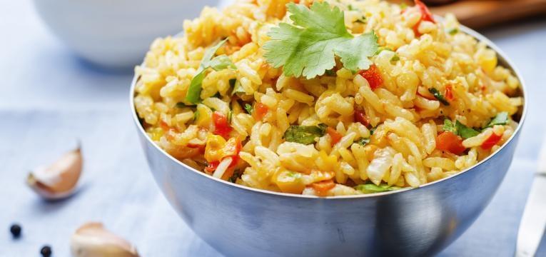 receitas vegan no forno arroz de legumes no forno
