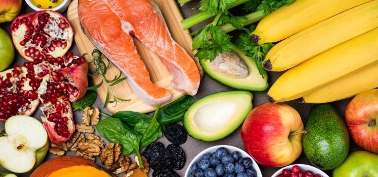 Triade da Atleta Feminina alimentos saudaveis
