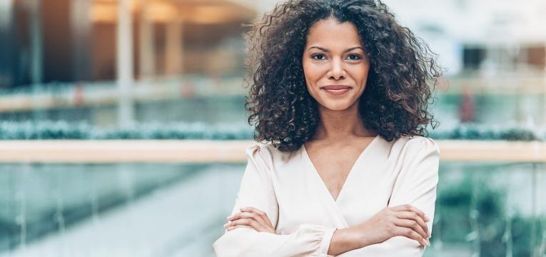 medo do abandono mulher confiante
