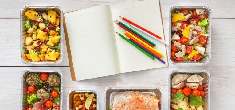 poupar tempo na cozinha planear refeicoes