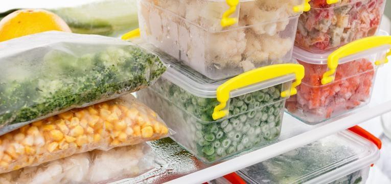 poupar tempo na cozinha alimentos congelados