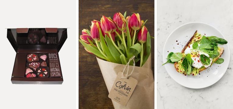 prendas para o dia doa namorados flores