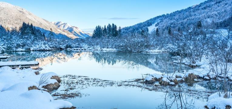 destinos de ferias na neve Kranjska Gora