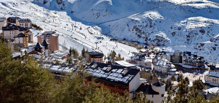 destinos de ferias na neve Serra Nevada