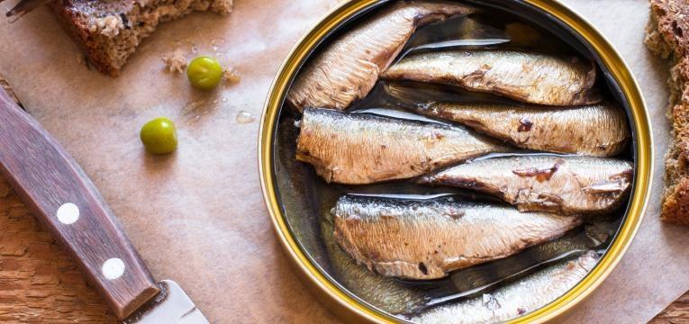 importancia do calcio sardinha enlatada