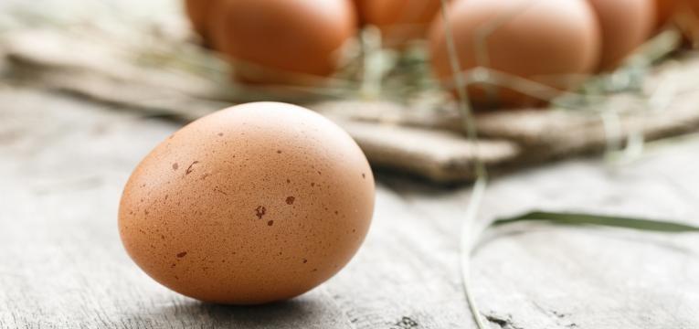 alimentos para nao sentir fome ovo com casca