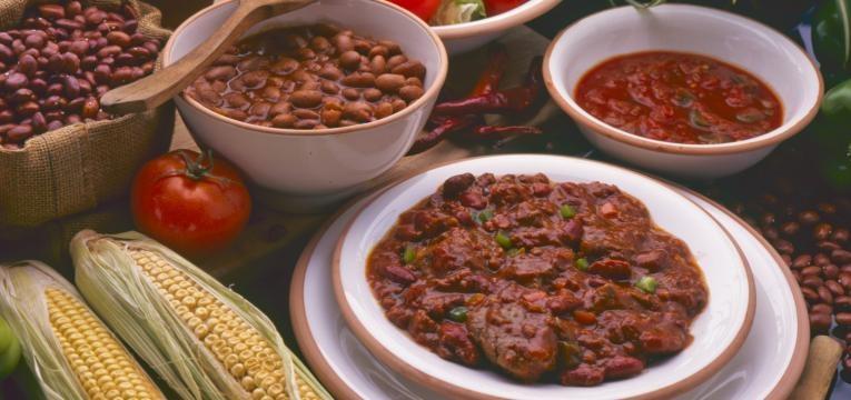Chili com carne na Bimby