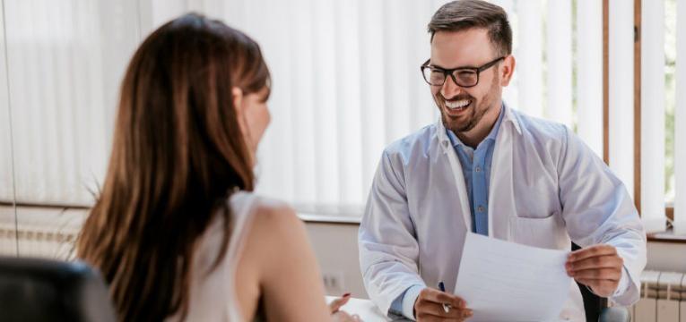 Alzheimer medico e paciente