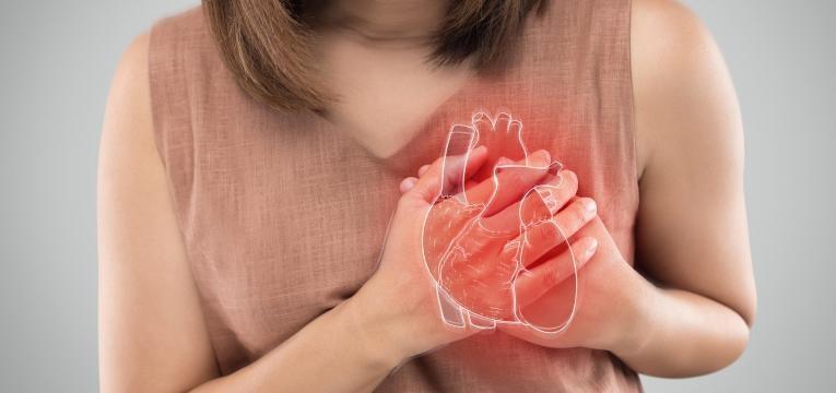 falta de ar enfarte do miocardio