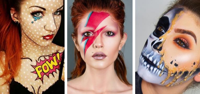 fantasias de carnaval para mulher maquilhagem